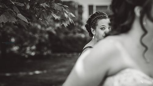 زفاف - {خادمة الشرف}