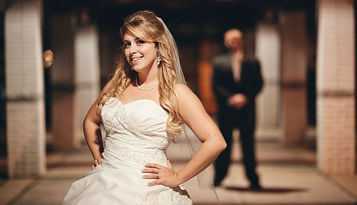 Wedding - Sometimes Available Light Can Be Your Best Friend.