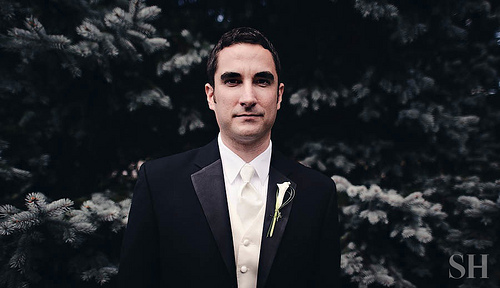 Wedding - He's Ready.