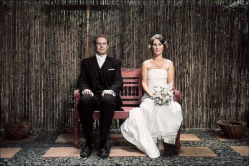 Wedding - Bench