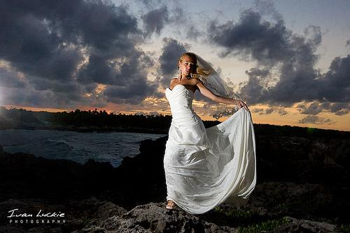 Mariage - Brûler mariée