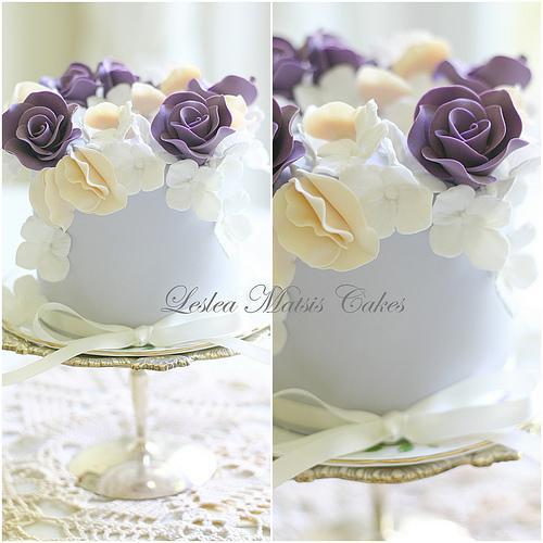 Hochzeit - Lila und Blau