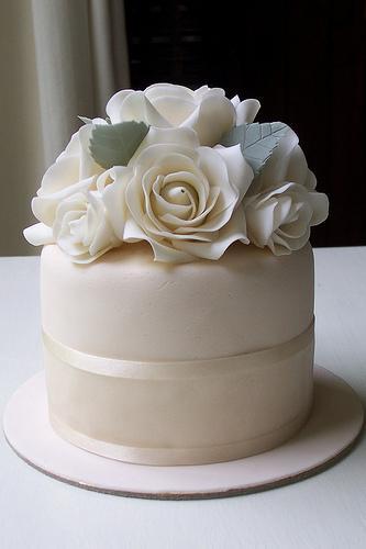 Hochzeit - Weiße Rosen