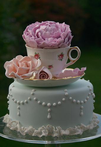 زفاف - السكر الفاوانيا