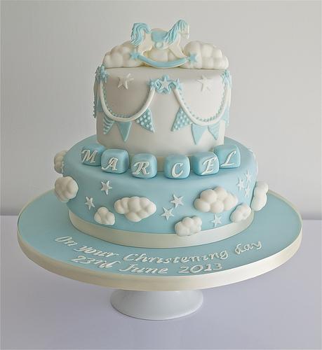 Свадьба - Крещение торт