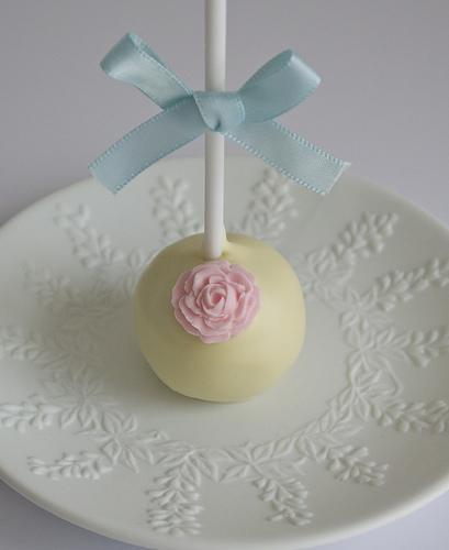 Wedding - Rose Cake Pop