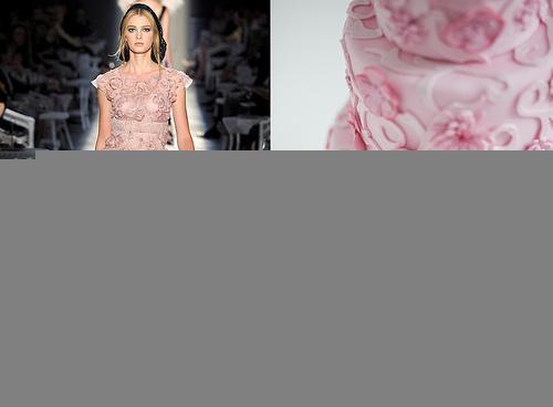 Wedding - Chanel Inspired Pink Cake