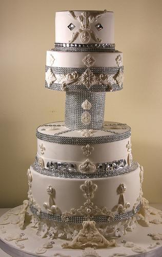 Wedding - Bling Wedding Cake