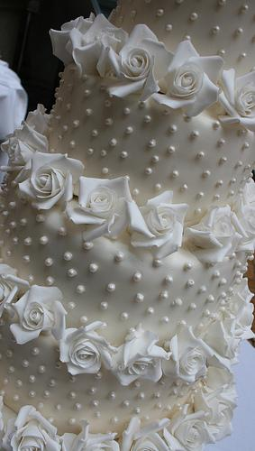 Wedding Cakes - Close Up Of The Five Tier Wedding Cake #1987971 ...