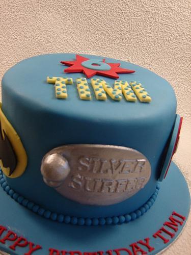 Wedding - Superhero Cake