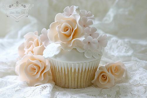 Свадьба - Персик розы