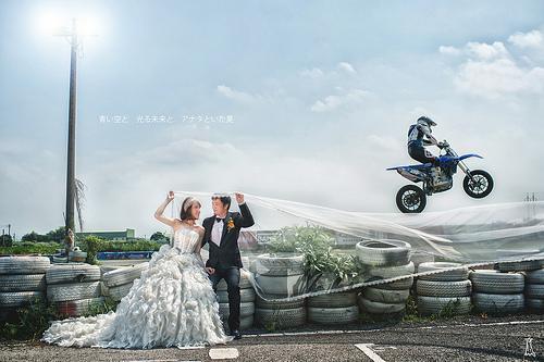 زفاف - [الزفاف] عبر