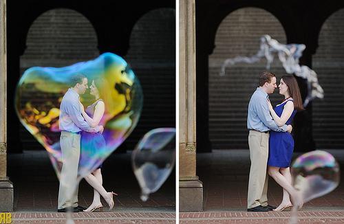 Wedding - Bursting My Bubble
