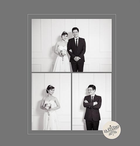 Wedding - Ảnh Cưới Hà Nội - Biệt Thự Hoa Hồng ( Ja Studio - 11E Thụy Khuê )