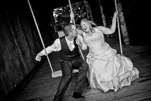Свадьба - Swingin 'в сарае