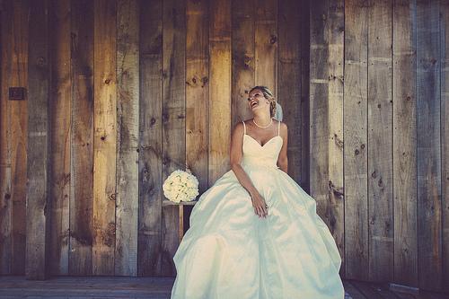 Wedding - Happy Bride