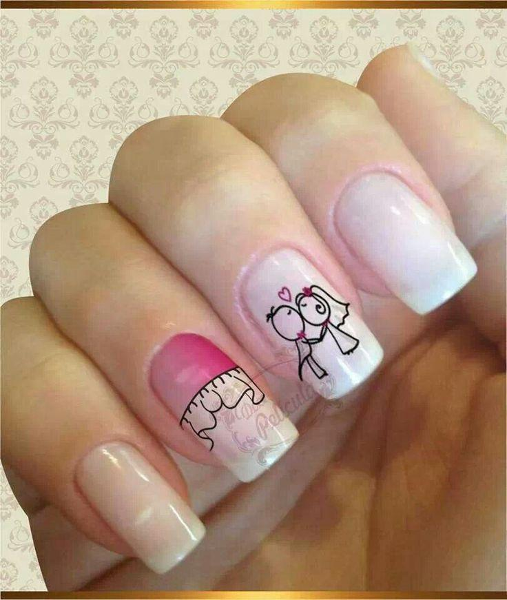 Here Comes The Bride With Some Awesome Nails: Nails #2026759