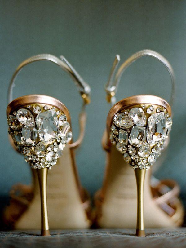 Düğün - Kristal Düğün Ayakkabısı.