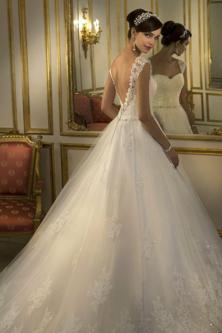 Dress - Low Back Fairytale Wedding Dress #2034405 - Weddbook