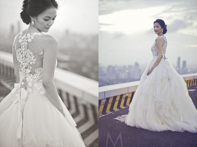 A Dainty Bride On The Highway