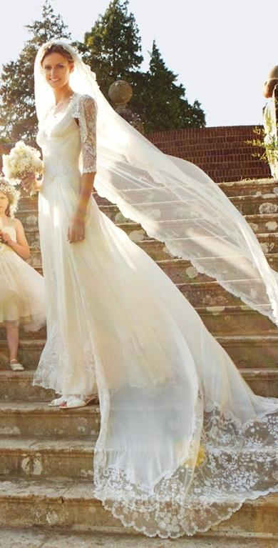 Classic white wedding dress by alice temperley 2039863 for Classic white wedding dress