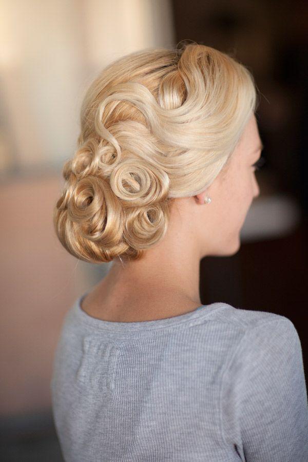 Wedding - Vintage Type Wedding Hairstyle for Brides