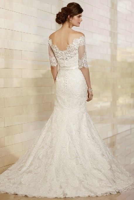 Wedding - 2014 New Mermaid ivory White Brides Wedding Gown