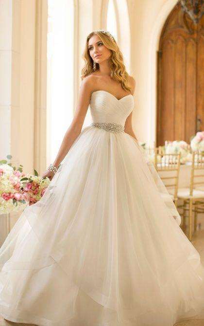 Robe De Mariée Mariage Soirée Wedding Evening Dress Dimensions Sur ...