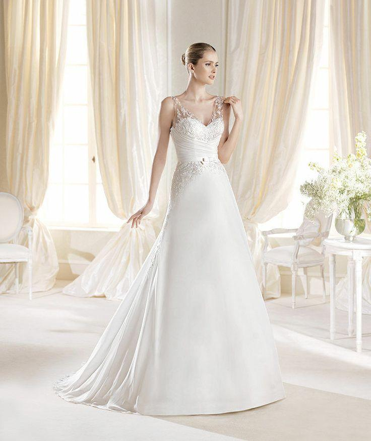 Real Brides Size 12: 2014 NEW Gorgeous Wedding Dress Bridal Gown Size 4 6 8 10