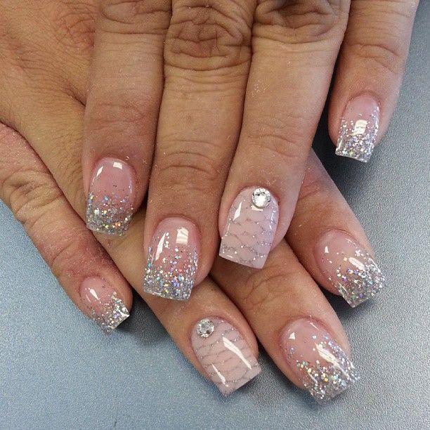 Wedding nail designs bridal nail 2057317 weddbook bridal nail prinsesfo Choice Image