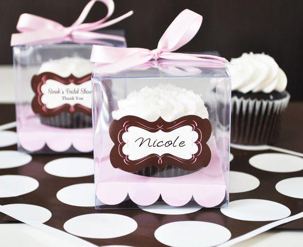 details about 12 clear plastic cupcake boxes wedding favor favors 2062384 weddbook. Black Bedroom Furniture Sets. Home Design Ideas