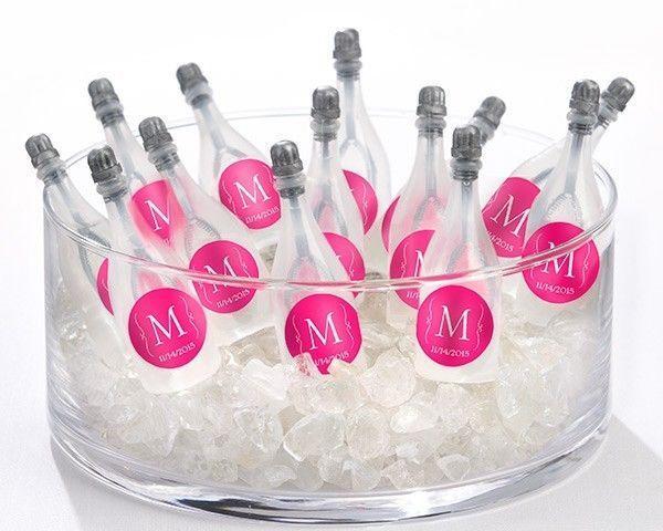 Details About 120 Personalized Monogram Bubble Champagne Bottles