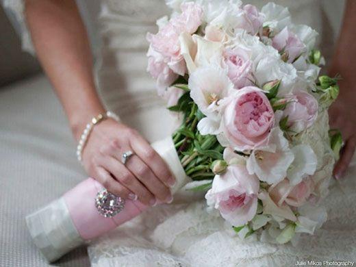 Wedding bouquet baby pink wedding flower bouquet 2071328 weddbook baby pink wedding flower bouquet mightylinksfo