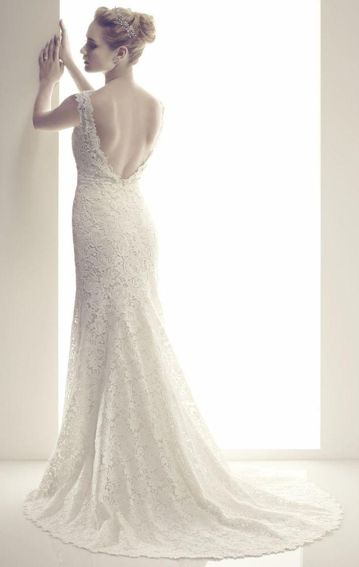 new sheath white ivory v neck wedding dresses backless