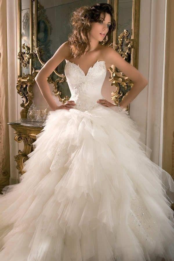 Mariage - New Top White/ivory Wedding Dress Custom Size 2-4-6-8-10-12-14-16-18-20-22
