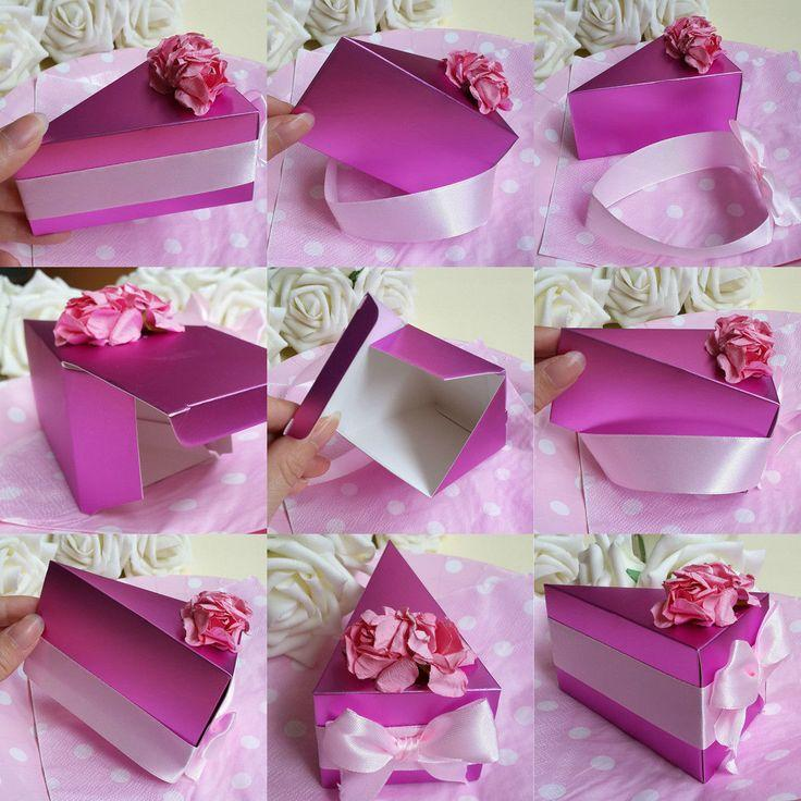 10 Light Purple Candy Bo Wedding Party Favors Gift A Cake