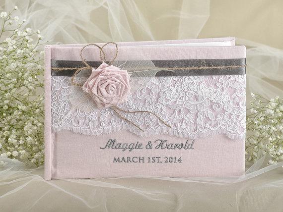 Mariage - Wedding Guest Book -  Guestbook