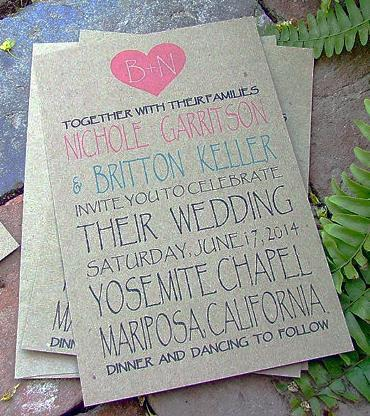 زفاف - Printable Wedding Invitations: colors can be customized - New