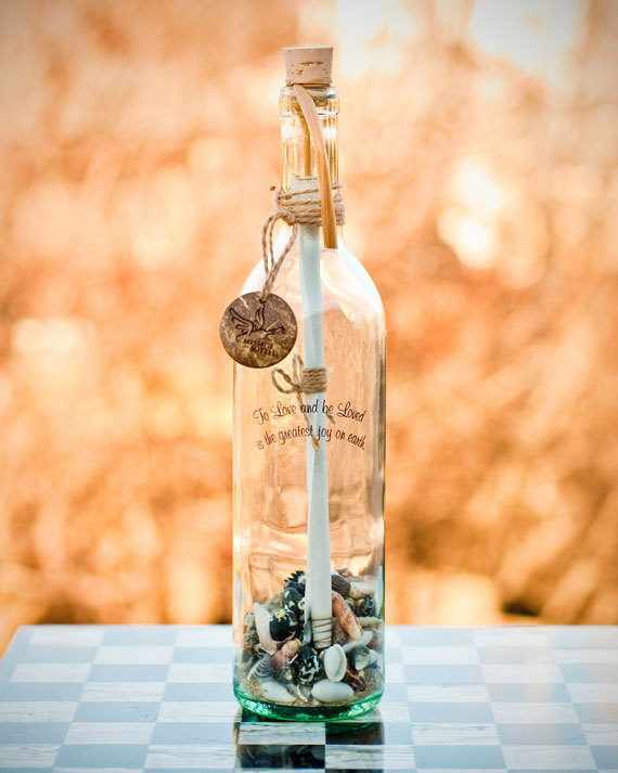 fda514d91ec HONESTY Personalized Message In A Bottle Gift For Anniversaries ...