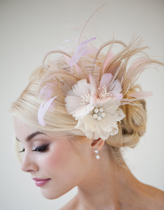 Свадьба - Bridal Fascinator -  Fascinator