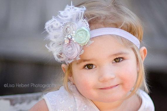 Accessories,couture Headband, Matilda Jane, Wedding, Newborn ...