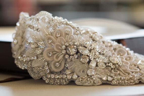 Mariage - Bridal dress sashes and belts