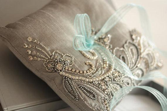 Свадьба - Wedding Ring Pillow