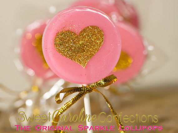 Mariage - Bubblegum Pink and Gold Wedding Favors