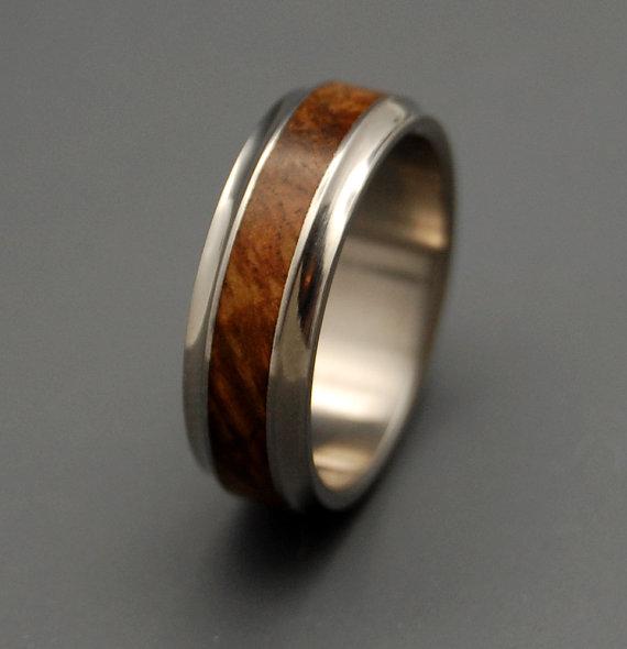 Hochzeit - Windham  -Wooden Wedding Rings - New