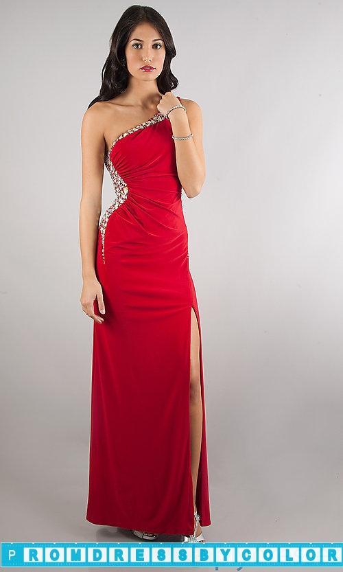 Wedding - $144 Designer Prom Dresses - One Shoulder Floor Length Dress at www.promdressbycolor.com