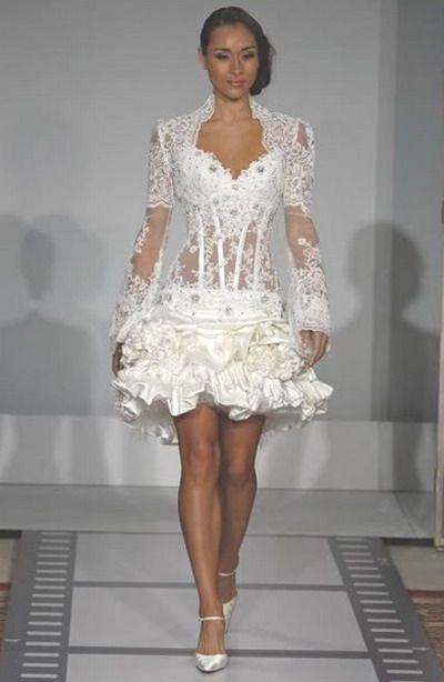 Lingerie - Mini Wedding Dress #2352006 - Weddbook
