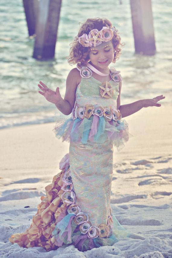64bf3473d1 OCEAN S SECRET MERMAID Costume-Dress Up