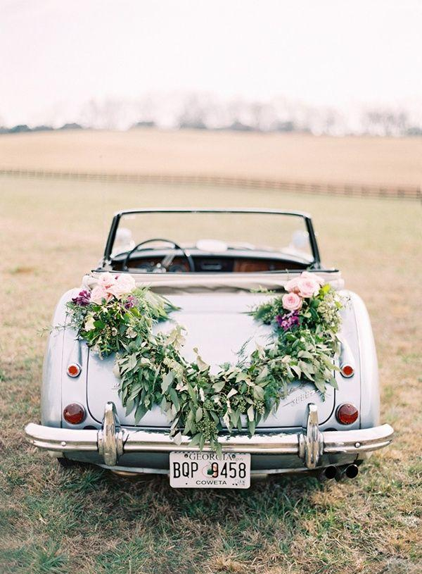 Wedding - Fab Wedding Getaway Car