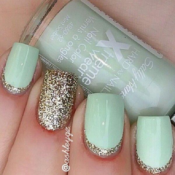 Nail 60 glitter nail art designs 2499104 weddbook 60 glitter nail art designs prinsesfo Choice Image